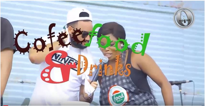 Coffee food and drinks litghted up by Olumetain and Lolo on Ivogue ONTV