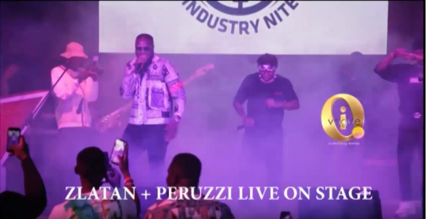 Zlatan and Peruzzi Performs Live @ Victor Ad Industry Night 2109